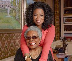 Oprah and Maya