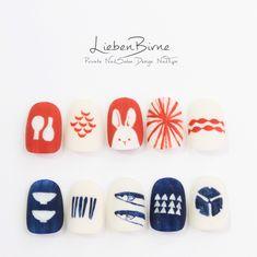 Asian Nail Art, Asian Nails, Korean Nail Art, Korean Nails, Luv Nails, New Year's Nails, Easter Nails, Japanese Nails, Autumn Nails