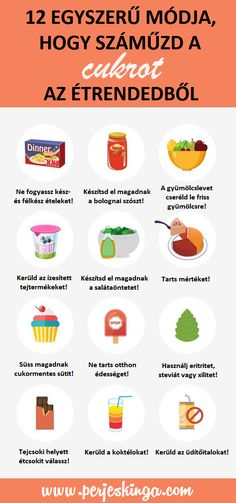 12 egyszerű módja, hogy száműzd a cukrot az étrendedből || www.perjeskinga.com Best Healthy Diet, Healthy Eating Tips, Healthy Weight, How To Stay Healthy, Keto Diet Breakfast, Natural Cough Remedies, Fat Foods, Balanced Diet, Best Diets