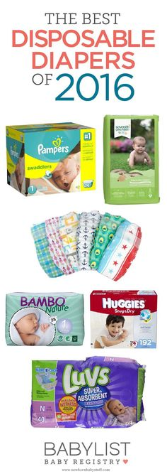Baby Accessories Best Disposable Diapers of 2016