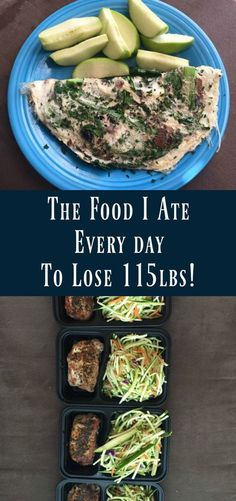 The Food I Ate Every Day to Lose 115lbs!   Healthy weight loss advice   weight loss before and after