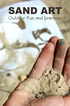Sand Art | Outdoor Fun and Learning