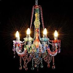 Gypsy Chandelier. Beautiful.  The Incensewoman