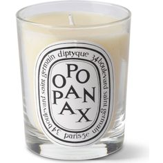 DIPTYQUE Opopanax scented candle (£42) ❤ liked on Polyvore featuring home, home decor, candles & candleholders, fragrance candles, vanilla candles, vanilla scented candles, egyptian home decor and diptyque candles