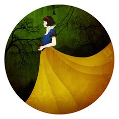 Snow White by Ylden