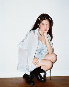 Kpop Girl Groups, Korean Girl Groups, Kpop Girls, Red Velvet イェリ, Flash Fotografia, My Girl, Cool Girl, Kim Yerim, Tie Dye Dress