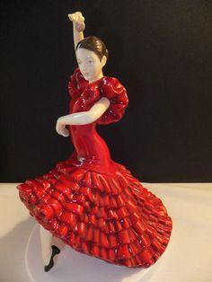 Royal Doulton Dances Of The World Spanish Flamenco Limited Edition of 2500 NIB   eBay