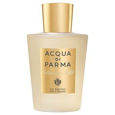 Acqua di Parma Gelsomino Nobile Shower Gel 150ml (PACK OF 6) A delicate formula that respects the skin's natural equilibrium due to the action of natural and  Read more http://cosmeticcastle.net/acqua-di-parma-gelsomino-nobile-shower-gel-150ml-pack-of-6/  Visit http://cosmeticcastle.net to read cosmetic reviews