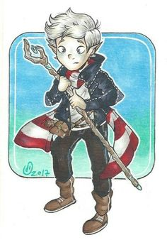 Magnus Chase-  Hearthstone,  someone give this elf hug