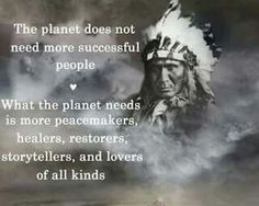 What the planet needs