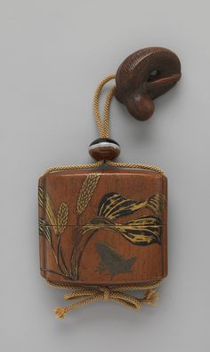 Case (Inrō) with Design of Frogs Period: Edo period (1615–1868) Date: 19th century