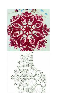 Free Crochet Doily Patterns, Crochet Doily Diagram, Crochet Mandala, Crochet Art, Crochet Gifts, Irish Crochet, Crochet Stitches, Sewing Patterns, Crochet Dollies