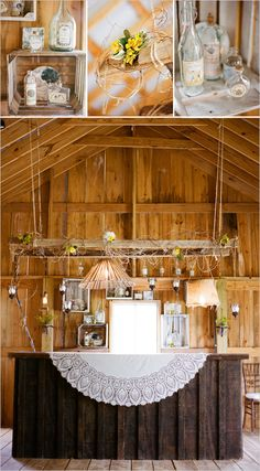 barn yard wedding