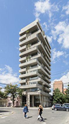 Brutalismus lebt: Wohnturm in Argentinien