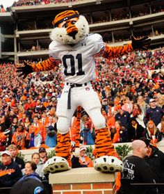 Aubie is the Best Mascot Ever!     War Eagle!     For Great Sports stories and Audio Podcasts, Visit our Blog at www.RollTideWarEagle.com