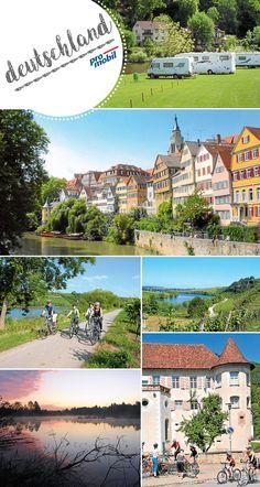 #Reise-Tipp #Baden-Württemberg Mit #Rad und #Reisemobil durchs Ländle Der #Neckartal-Radweg ist der schwäbischste aller #Fernradwege – und einer der schönsten dazu. #promobil zeigt, wie Sie ihn mit #Reisemobil und #Rad in Etappen oder komplett erkunden können.