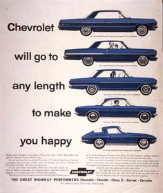 1964 Chevrolet advertisement We still believe this today at Ray Chevrolet #raychevrolet
