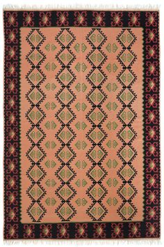 This kilim is named after our weaver-captain's favorite design. She likes it because of its more traditional pattern.