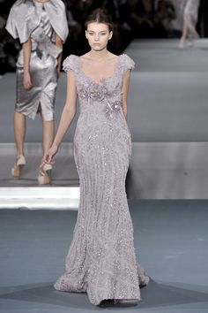 Elie Saab at Couture Spring 2009 - StyleBistro