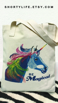 Be magical while shopping or gift giving with this high-quality tote bag