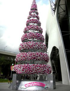 VivoCity, Singapore's largest mall, has a unique Christmas tree.