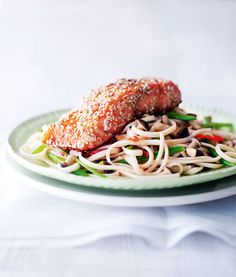 This Asian-style salmon recipe is good enough to serve at a dinner party but why save it for a special occasion?