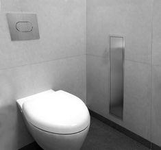 Easy Drain   Toilet Brush Storage & Niche