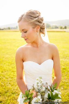 Makeup- Suzanne Hair- Ky #bride #bridalmakeup #naturalmakeup #blush #eyeliner #lips #perfection #Washingtonian