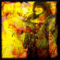 Model: Kikki PhotoGraph and Digital editing: Danny MushroomBrain Hennesy This is a Fan-girl to our Glorious bands: Villa Nova Junction (Husk VNJ band) G. Kikki The VNJ, GormoGons and Ts Fan Japanese Blossom, Mixed Media Art, Deserts, Deviantart, Fan, Painting, Design, Painting Art, Postres