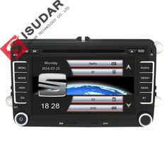 Capacitive Screen! Two Din 7 Inch Car DVD Player For Seat/Altea/Leon/Toledo/VW/Skoda Wifi 3G Host Radio FM GPS Bt 1080P Ipod Map //Price: $284.99 & FREE Shipping //     #hashtag2