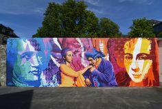 3Steps | Werther Mural | Die Leiden des Jungen Werthers | The Sorrows of Young Werther | Goethe | mural | urban art | streetart | Art | Kunst | culture | novel | Klassiker | Wand | Wetzlar | Germany | 2015 Leiden, Mural Art, Novels, Germany, Culture, Urban, Painting, Kunst, Destinations