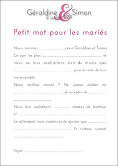 texte à trous mariage Wedding Activities, Wedding Games, Wedding Guest Book, Wedding Day, Rainbow Wedding, Guest Gifts, More Than Words, Marry Me, Photo Book