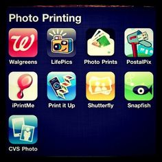 apps for printing Instagram & other photos from iPhone