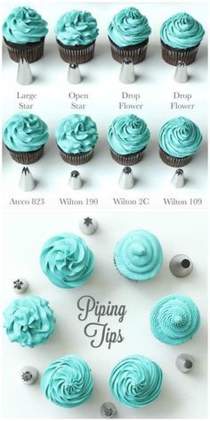 Cupcake Frosting Guide The Best Tips and Tricks - Thanksgiving cupcakes - . Cupcake Frosting Guide The Best Tips and Tricks - Thanksgiving cupcakes - . Cupcake Frosting Tips, Cupcake Toppings, Buttercream Recipe, Vanilla Frosting, Frosting Recipes, Cupcake Recipes, Cupcake Cakes, Baking Recipes, Crusting Buttercream