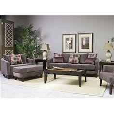 Fairmont Seating Zoey Chair & 1/2 - Fashion Furniture - Chair & a Half
