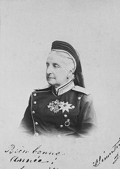 Princesse Clémentine d'Orléans (1817-1907) épouse du prince Auguste de Saxe-Cobourg-Gotha