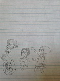 Steven Universe draw the squad