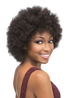 Outre Velvet Remi Human Hair Wig AFRO