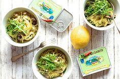 Qooking.ch | Pâtes aux sardines et au citron Japchae, Ramen, Ethnic Recipes, Food, Lemon, Meals, Yemek, Windows, Eten