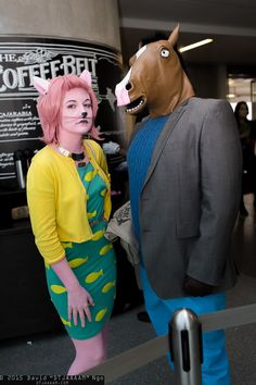Princess Caroline and BoJack Horseman #NYCC2015
