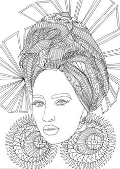 Face Coloring Page for Adults Awesome Adult Coloring Book Printable Coloring Pages Coloring – Martin Chandra Coloring Pages Doodle Coloring, Mandala Coloring Pages, Coloring Book Pages, Coloring Sheets, People Coloring Pages, Doodle Pages, Buch Design, Free Printable Coloring Pages, African Art