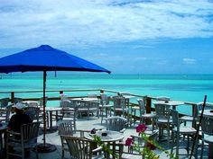 Loui's Backyard in Key West...if you ever get the chance, a definite must!