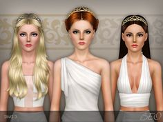FORGED METALLIC HEADBAND by BEO • Sims 3 Downloads CC Caboodle