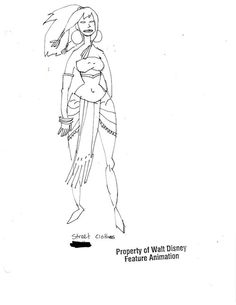 brianmichaelbendis:  Atlantis: The Lost Empire concept art by...