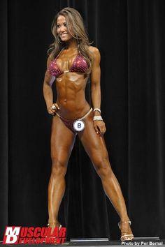 Tianna Ta. IFBB Bikini Pro- one of my favorites!