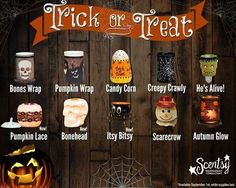 Trick or Treat with Scentsy Halloween 2014!