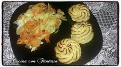 Filetto di platessa al cartoccio con patate duchessa