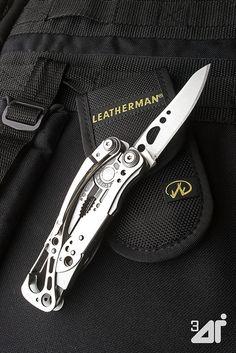 Leatherman Skeletool love it. Best gift ever!