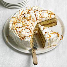 Celebrate Cinco de Mayo with this cinnamon-sugar Dulce de Leche Cake. More Mexican desserts: http://www.bhg.com/recipes/ethnic-food/mexican/14-amazing-mexican-desserts/?socsrc=bhgpin042913dulcedeleche=8