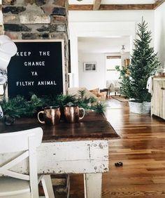 Cosy Christmas interiors.